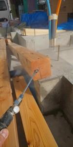 新築住宅のホウ酸を使用した新築防蟻工事|京都市左京区 イメージ