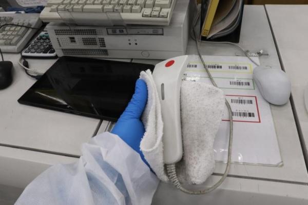 新型コロナウイルスの消毒作業|京都府京都市スライダー3
