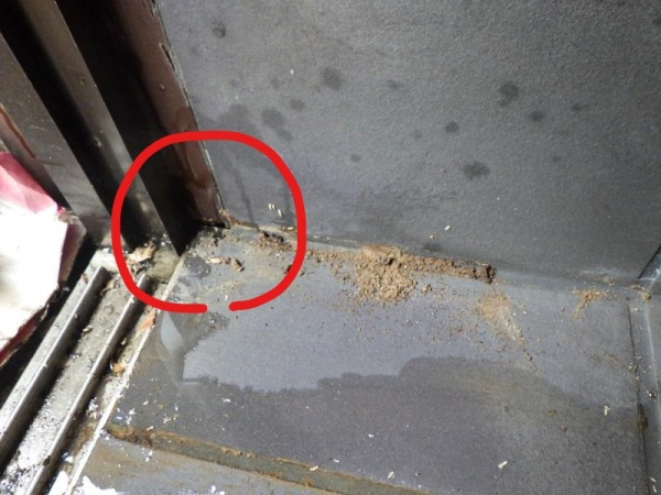 戸建て住宅の白蟻調査 京都市北区スライダー2