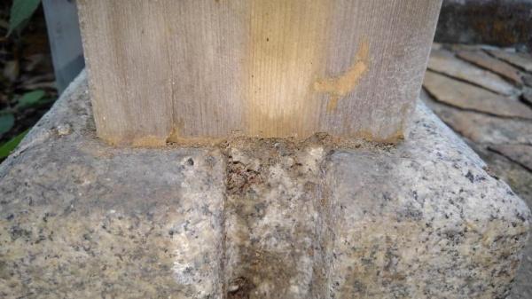 寺院の山門の防蟻工事|京都市上京区スライダー2
