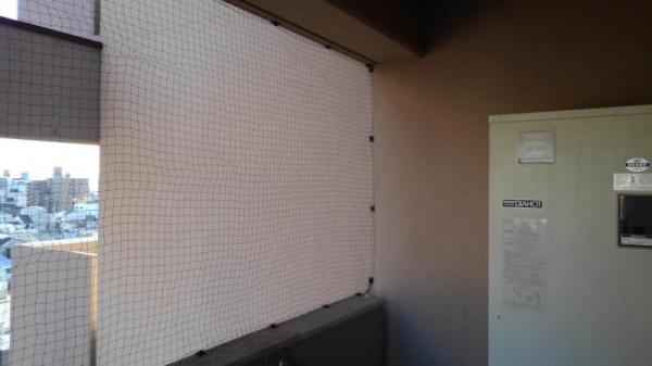 賃貸マンションの防鳥工事|京都市下京区スライダー3