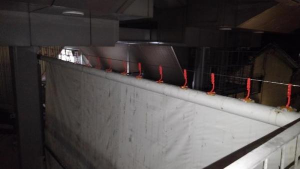 商店街のハト対策 京都市中京区 イメージ