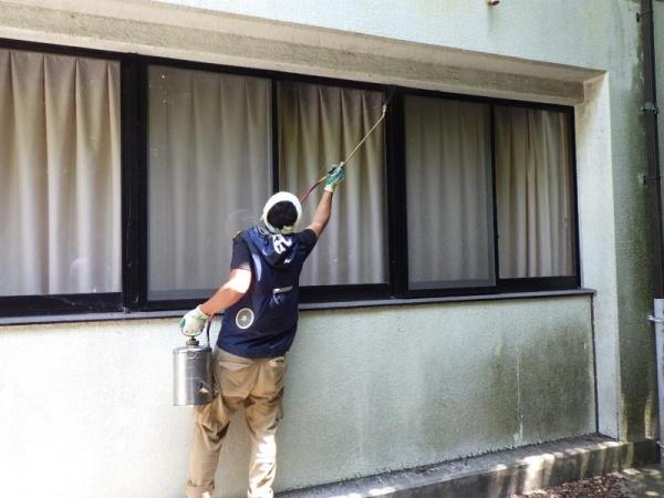 特別養護老人ホームの害虫防除作業|京都府宇治田原町スライダー2