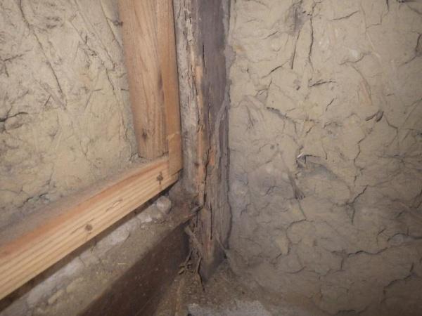 戸建住宅の白蟻駆除作業|京都市山科区スライダー1
