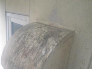 換気扇フードの防鳥工事 京都市右京区 イメージ