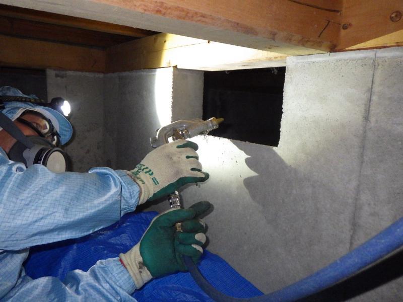 戸建て住宅の白蟻予防工事|京都市山科区 イメージ