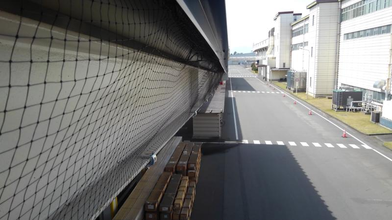 大型倉庫のハト対策|滋賀県栗東市スライダー4