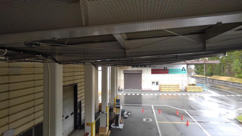 大型倉庫のハト対策|滋賀県栗東市 イメージ