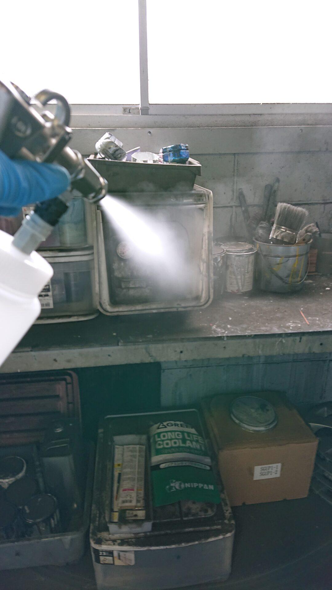 新型コロナウイルス施設消毒作業|京都府北部スライダー3