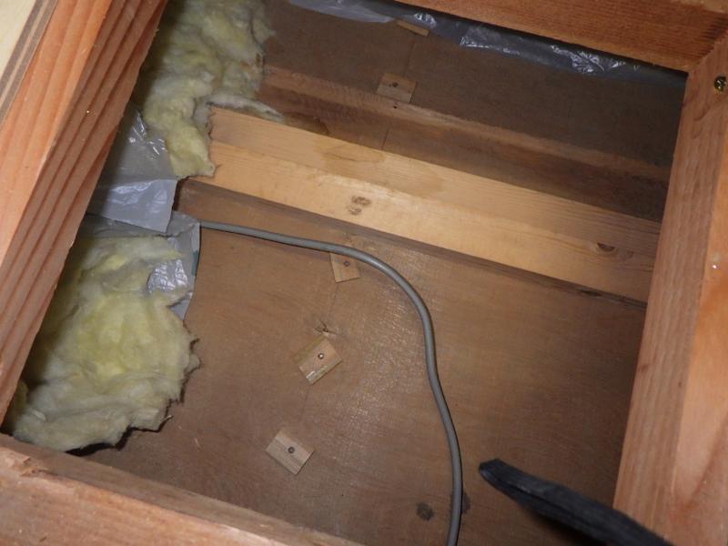 伝統的木造家屋のネズミ防除作業|京都市北区スライダー3