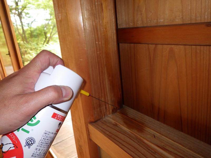 お寺の害虫防除作業|京都市西京区 イメージ