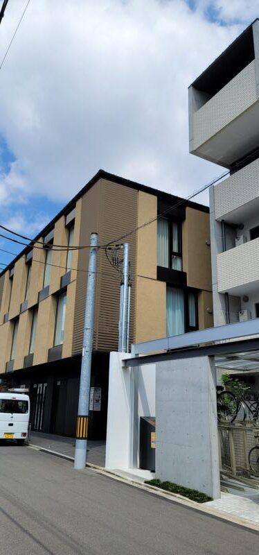 マンションの防鳥工事|京都市左京区 イメージ