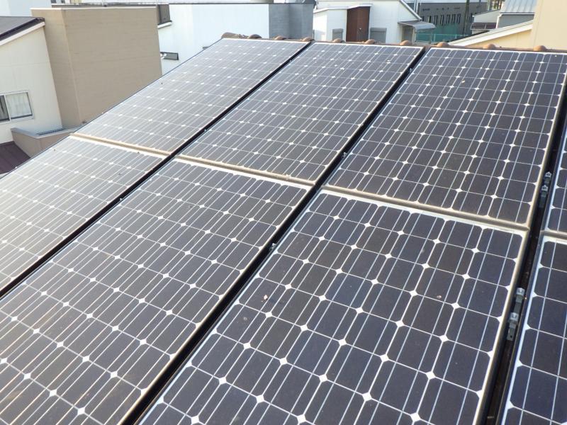 太陽光パネル防鳥見積|奈良県奈良市 イメージ